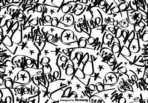 svg pattern tag vector graffiti tags seamless pattern download free
