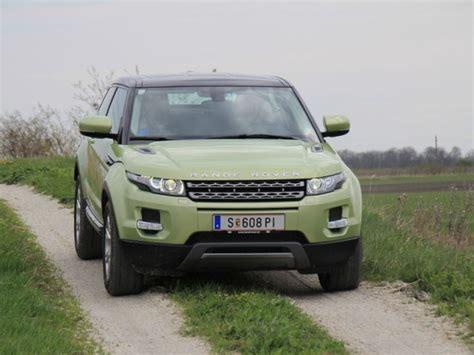 range rover evoque 2wd range rover evoque 2wd fahrbericht auto motor at