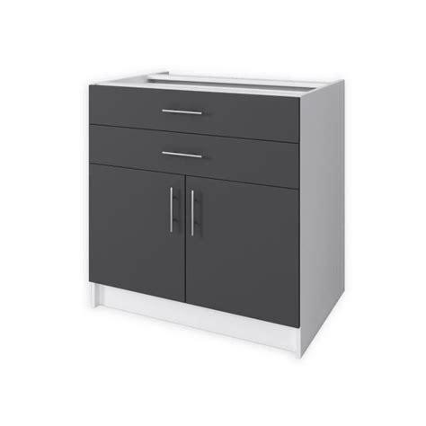 plan de travail cuisine largeur 80 cm top elements bas obi meuble bas de cuisine l cm gris mat
