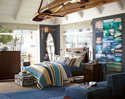 surf bedroom decorating ideas teenage guys bedroom ideas surf s up pbteen
