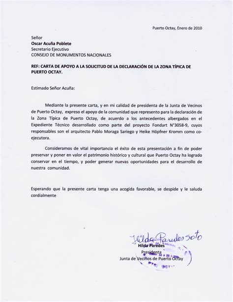 carta autorizacion junta vecinos zona tipica octay 27 documentaci 211 n de inter 201 s