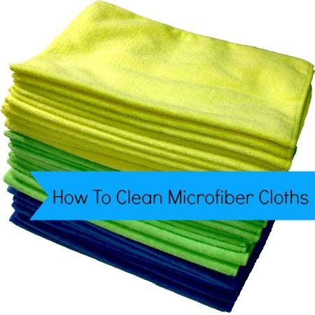 Cleaning Microfiber by How To Clean Microfiber Cloths