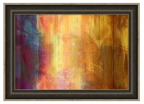framed abstract abstract painting reigning light framed