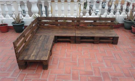 pallet outdoor sectional pallet patio terrace sectional furniture pallet