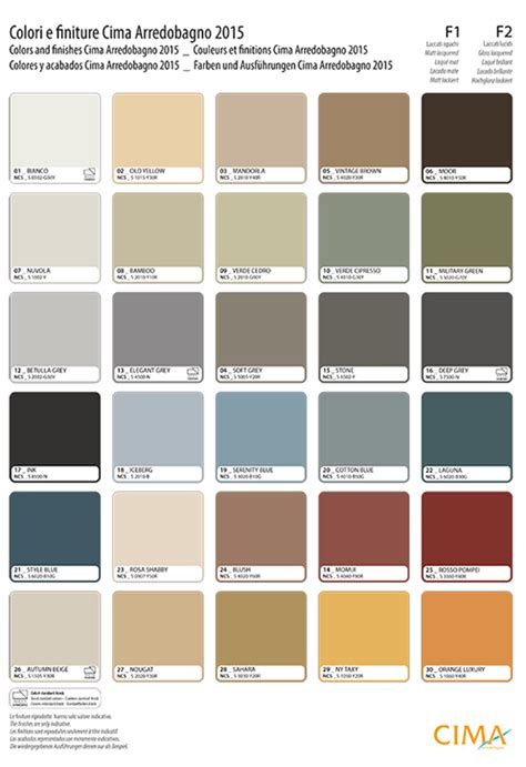bathrooms perth scotland premier bathrooms perth cima arredobagno cblock colour chart