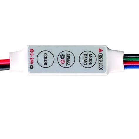 Lu Led Rgb mini controller for rgb led lights 6a 5 24v dc 72w ultralux
