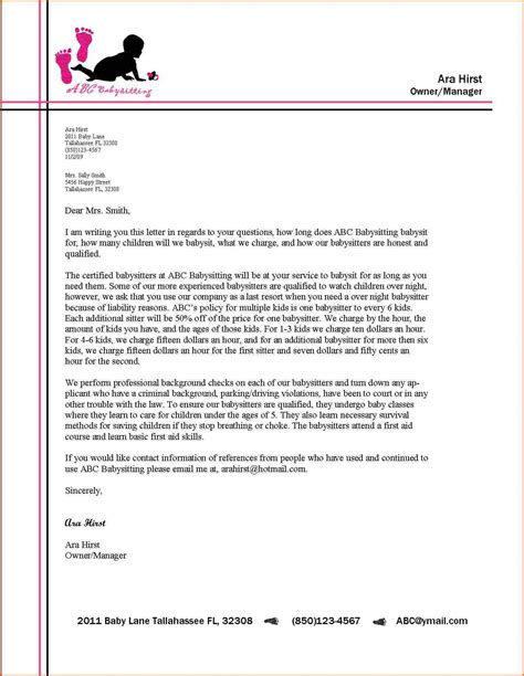 business letter format for students business letter format letterhead exle alberta