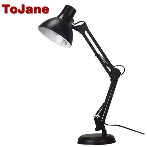 swing arm desk l with cl tojane tg603 flexible desk l long swing arm led desk