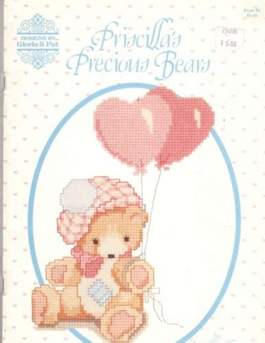 designs  gloria pat priscillas precious bears cross