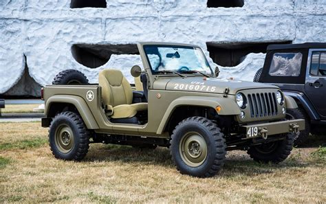 concept jeep wrangler wrangler salute concept celebrates 75 years of jeep