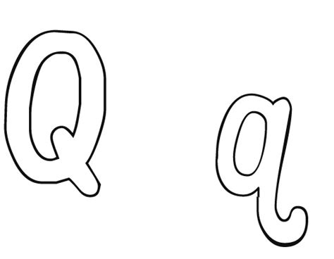 Letter Q Coloring Worksheet The Alphabet Dot To Dots Letter Q Coloring Pages