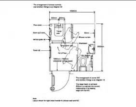 Ada Floor Plans what are the dimensions of a disabled shower room