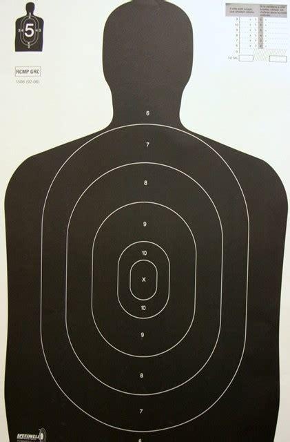 printable law enforcement shooting targets paper targets part 3 blackshepherd