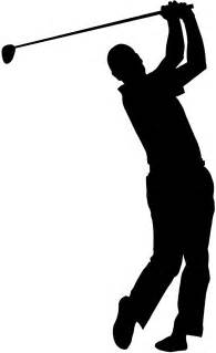 Golf Swing Silhouette golf swing silhouette free vector silhouettes