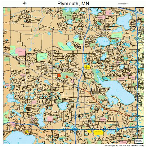 map of plymouth minnesota plymouth minnesota map 2751730