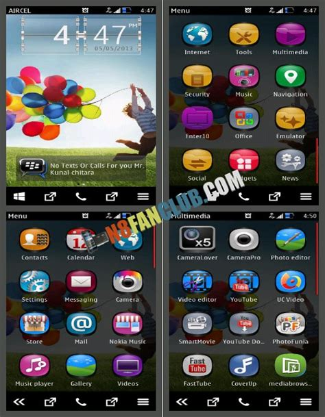 themes nokia galaxy samsung galaxy s 4 theme hd wallpapers pack for nokia n8