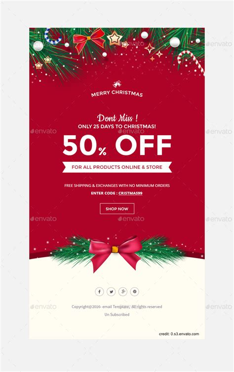 Finding The Right Holiday Greetings Email Template Mailbird Greeting Email Template