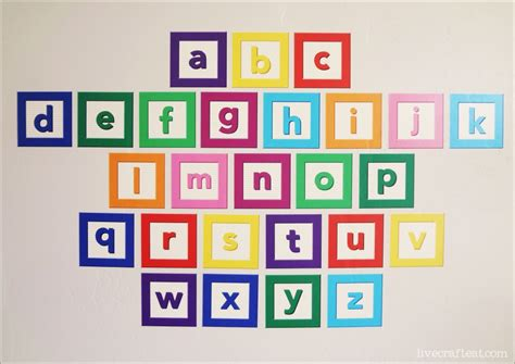 wall stickers letters signs alphabet wall decal set giveaway live craft eat