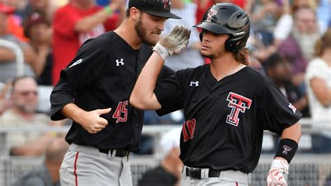 Texas Tech hangs on, knocks out top seed Florida 3 2 at