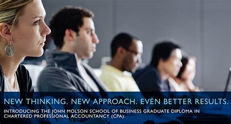 Molson School Of Business Mba Fees by Graduate Diploma In Chartered Professional Accountancy