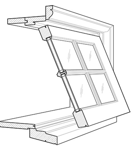 Awning Drawing by Awning Windows Drawing