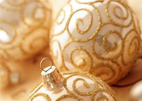 golden christmas ornaments christmas photo 22229812