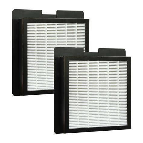 2 washable hepa filters for fresh air by ecoquest alpine xl 15 living air ebay