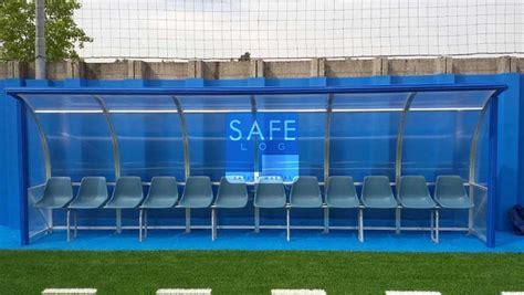 panchina di calcio protezioni in gomma antitrauma per panchina su co