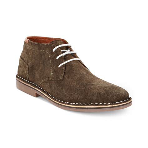 Suede Chukka kenneth cole reaction desert sun suede chukkas in brown