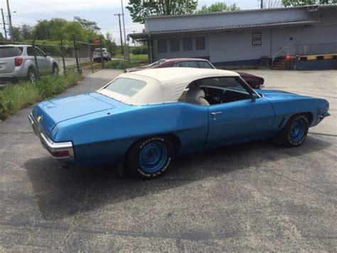 1972 pontiac convertible for sale 1972 pontiac le mans convertible for sale pontiac le