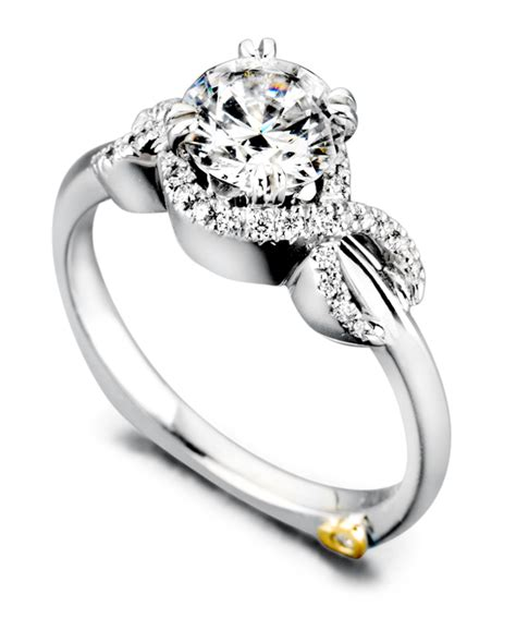 Infinity Engagement Rings Infinity Vintage Engagement Ring Schneider Design