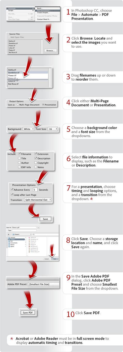 tutorial photoshop cc pdf how to create pdf create pdf files adobe acrobat