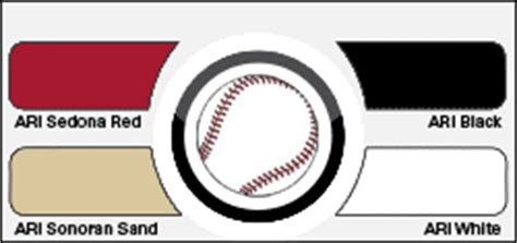 arizona diamondbacks colors pro baseball colors cornchucker llc your source for