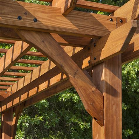 cedar pergola kit cedar pergola kit outdoor wood lawn yard garden arches gazebos