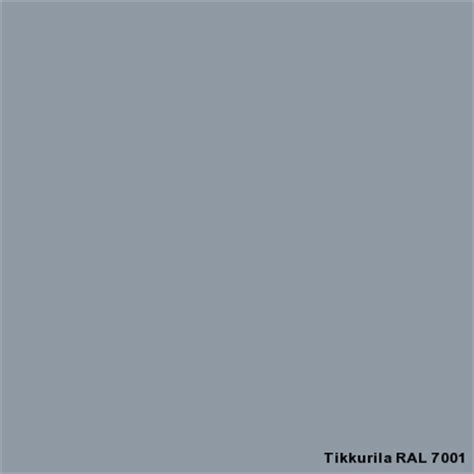 ral 7001 ral classic tikkurila industrial coatings colors ral color cards