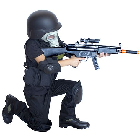 Western Decorations For Home by Kids Army Swat Raid Costume With Gas Mask Kids Army Com