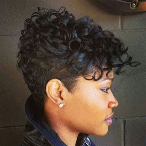 pictures of short curly hairstyles for women atlanta ga salon 20 cute short haircuts for black women short hairstyles