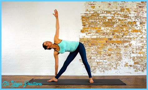 Journal Chair Pose by Triangle Pose All Allyogapositions