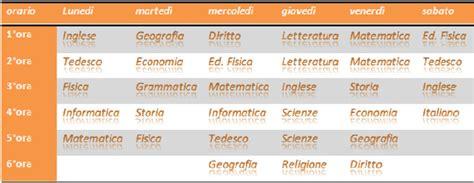 Free Home by Tabella Orari Materie Scolastiche Compiti E Trucchi Pc Per La 1b