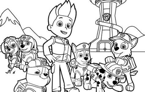 dibujos para pintar patrulla canina dibujos colorear patrulla canina juguetes patrulla canina