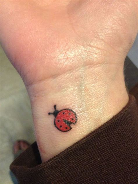good wrist tattoos 29 impressive ladybug wrist tattoos