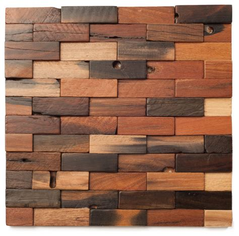 ananda woodworking wood mosaic tile tile design ideas