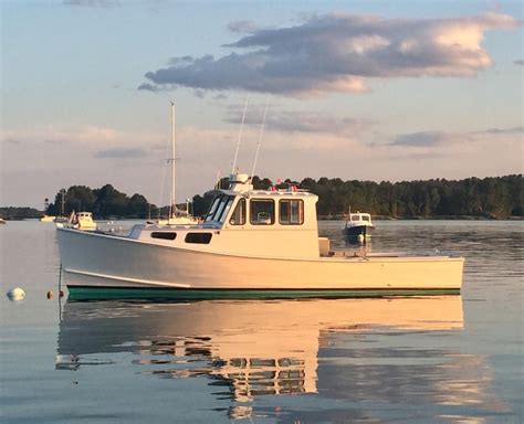 lobster boat cruiser 2005 h h marine lobster style cruiser power boat for sale