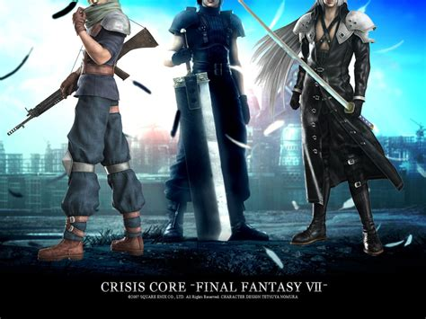 film final fantasy vii crisis core crisis core final fantasy vii wallpaper the final fantasy