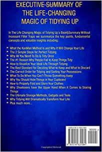 changing magic of tidying up summary the life changing magic of tidying up the japanese art of decluttering and organizing by marie