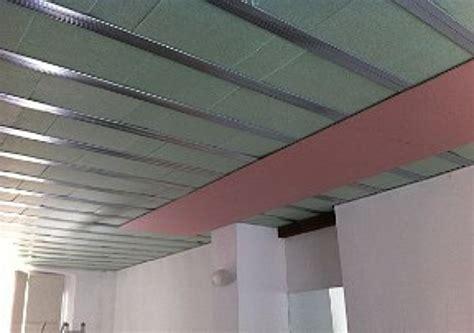 isolamento acustico a soffitto foto isolamento acustico soffitto autoportante di