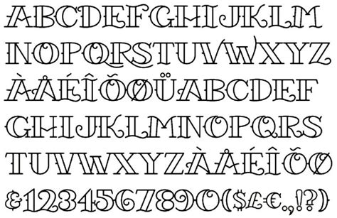 tattoo font generator old school tattoo font 3 by starvire on deviantart