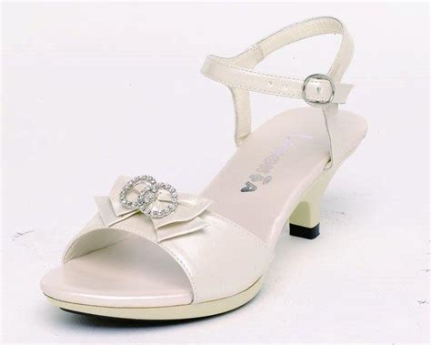 flower ivory shoes ivory flower shoes with heels and open toewedwebtalks