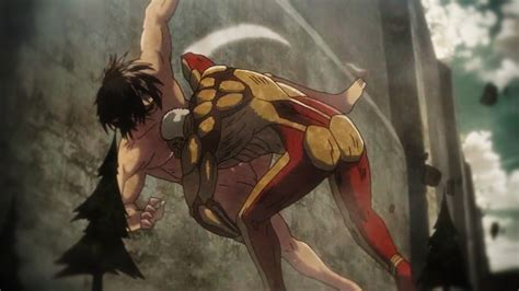 Eren Vs Armored Titan [Reiner] AMV Attack On Titan Season ... Attack On Titan Eren Titan Vs Armored Titan