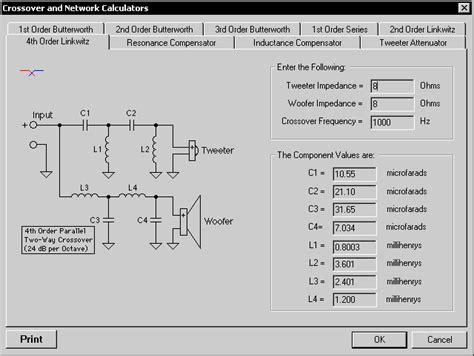 audio video layout software speaker crossover software car audio systems